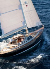 Sailing On Senator John Kerry`s Yacht Isabel