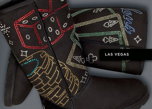UGG Australia Boots with Swarovski Crystals - Las Vegas