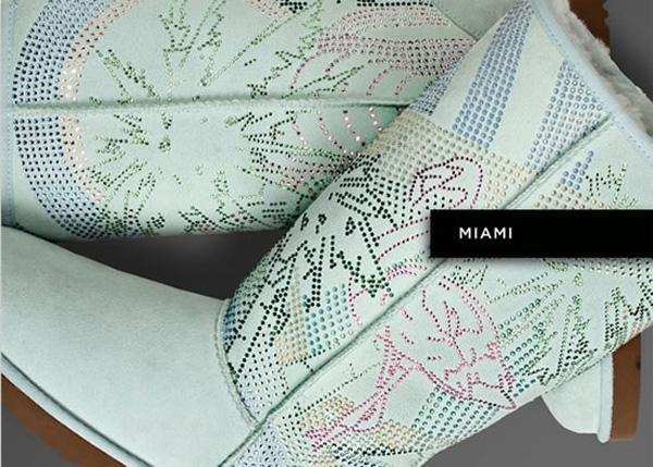 UGG Australia Boots with Swarovski Crystals - Miami