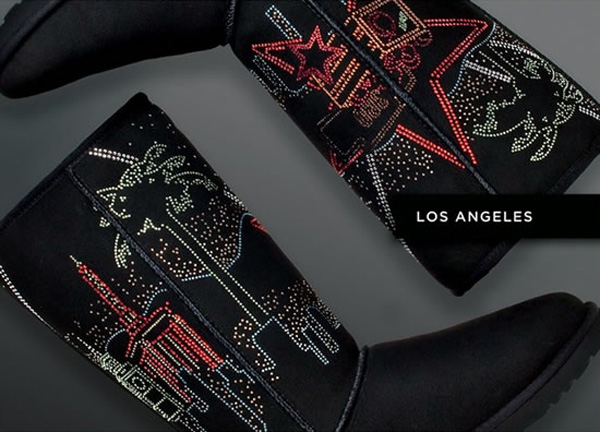 UGG Australia Boots with Swarovski Crystals - Los Angeles