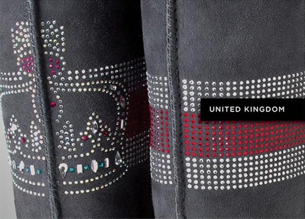 UGG Australia Boots with Swarovski Crystals - United Kingdom