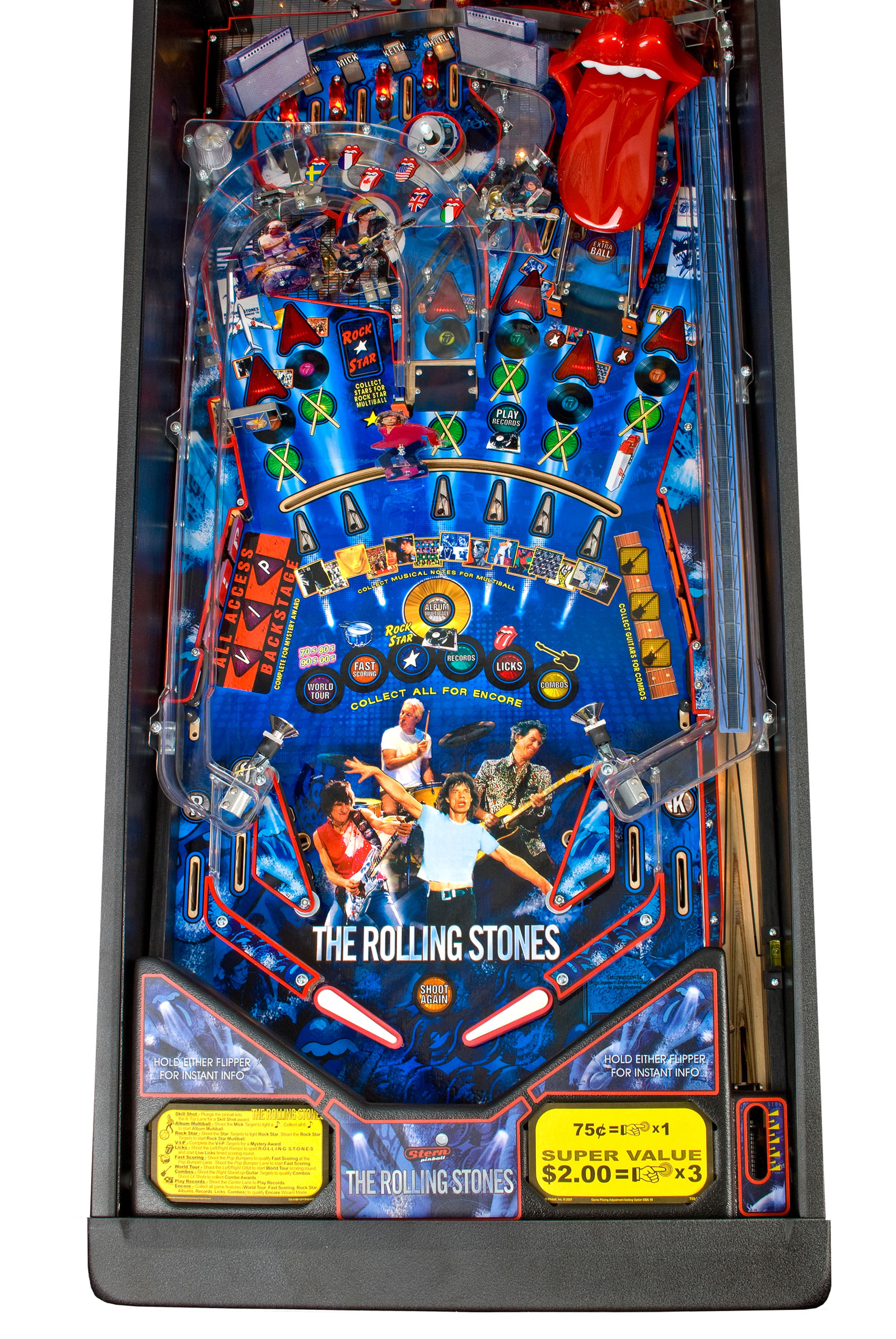 The Rolling Stones Pinball Machine
