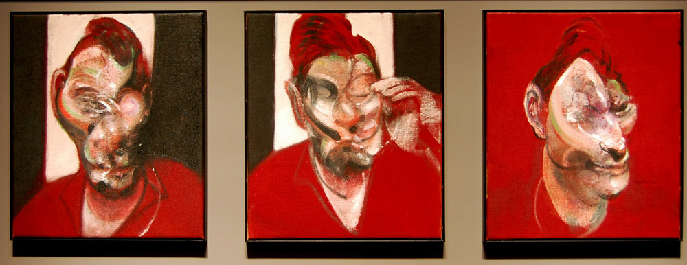 Francis Bacon's Three Studies for a Portrait of Lucian Freud