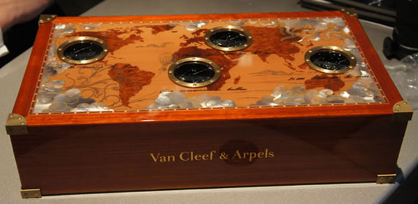 Les Voyages Extraordinaires Watch Collection by Van Cleef & Arpels