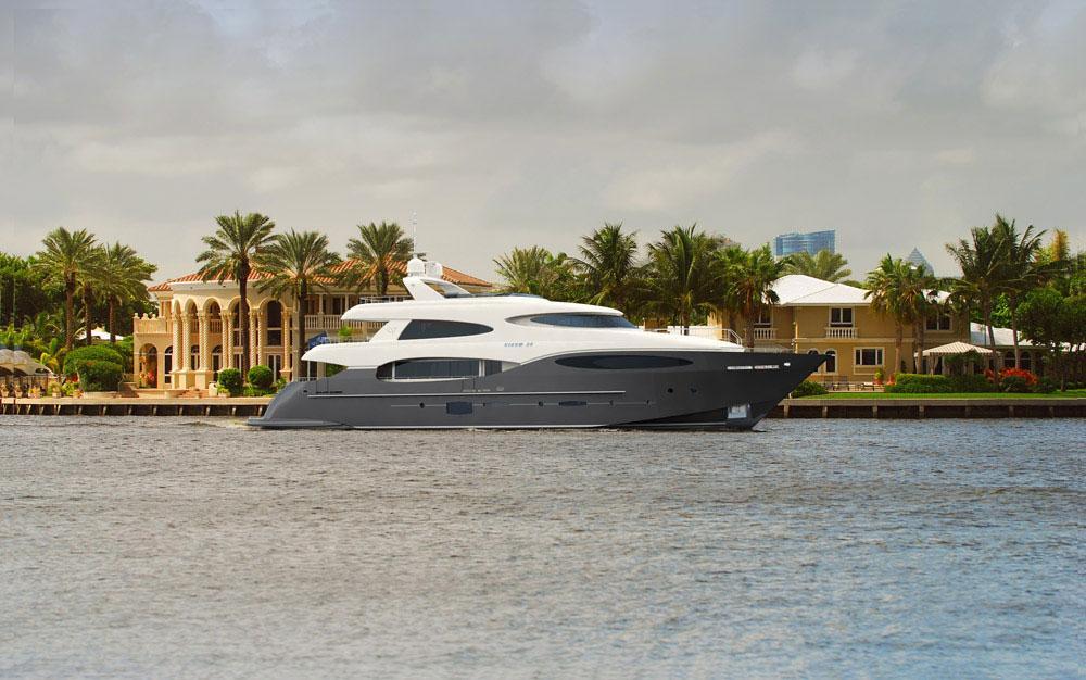 Vicem Yachts - Vulcan 35 M Tri-Deck Yacht