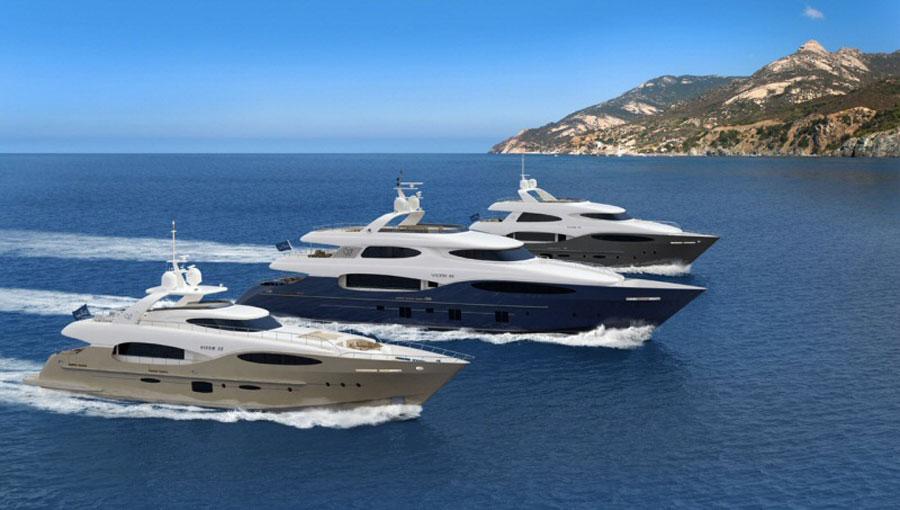 Vicem Yachts - New Vulcan Line Superyachts