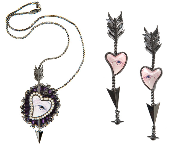 Vivienne Westwood &#8211; Heart-Eye Valentine`s Jewerly