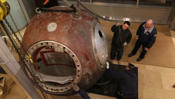 Vostok 3KA-2 &#8211; 1961 Soviet Space Capsule Up for Auction
