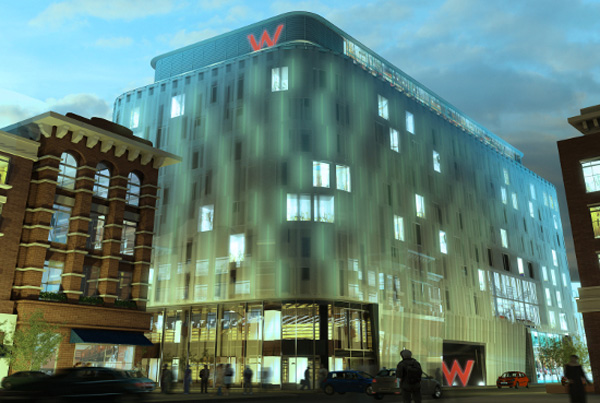 W london leicester square hotel is waiting for you for New boutique hotels london