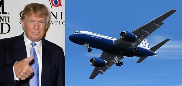donald-trump-Boeing-757-Jet