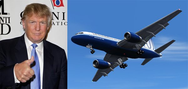 Donald Trump Is Reacher For Boeing 757 Jet