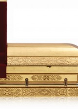 Zsa Zsa Gabor Receives Her Last Gift Before The Time – Gold Plated Casket