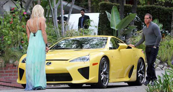 Limited Edition Lexus LSA – Paris Hilton's $375,000 Birthday Gift