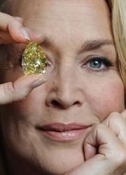 The World's Largest Yellow Pear-Shaped Diamond – Priceless 110 Carat Cora Sun-Drop