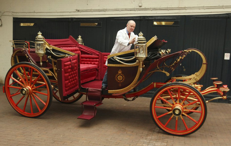 The 1902 State Landau Ready For Kate And Williams