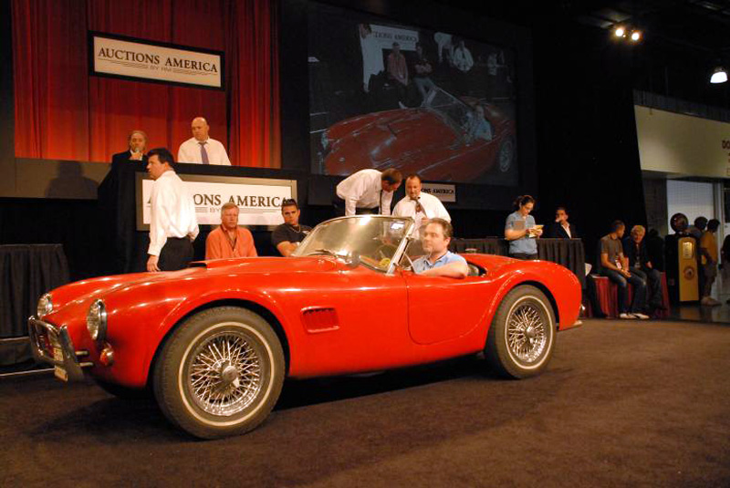 Unrestored Shelby Cobra Auction Price Outperforms Gold