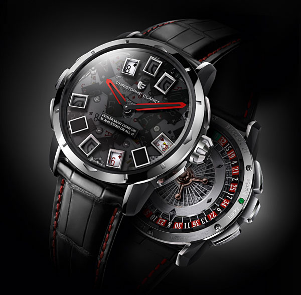 Christophe Claret's 21 BlackJack Watch
