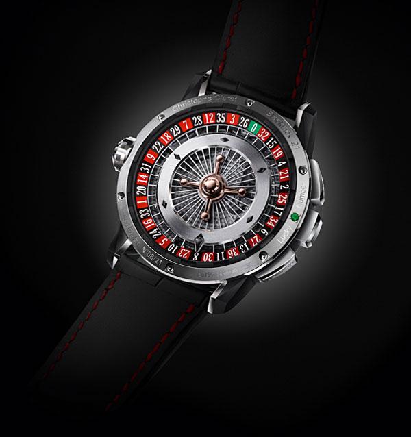 Christophe Claret's 21 BlackJack Watch