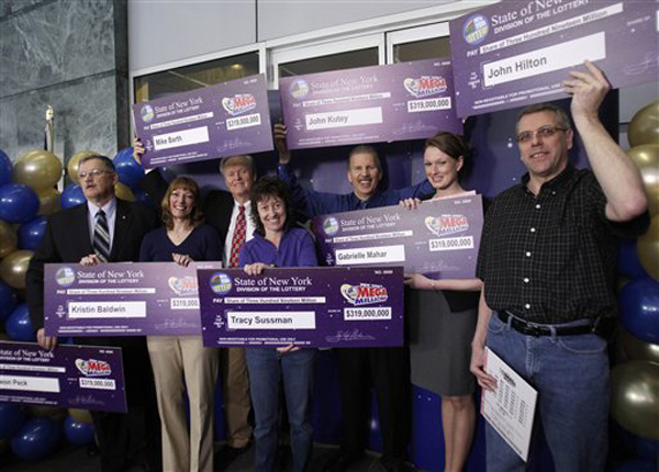 $319 Million Jackpot Winners