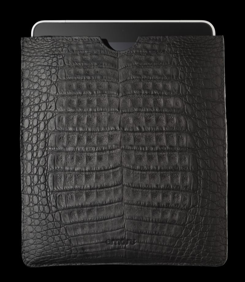 Alexander-Amosu-Matt-Black-Crocodile-IPad-2-case-2