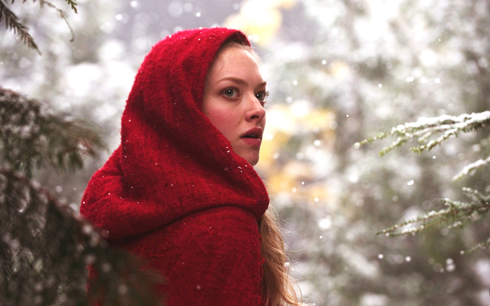 Amanda Seyfried in Red Riding Hood Movie