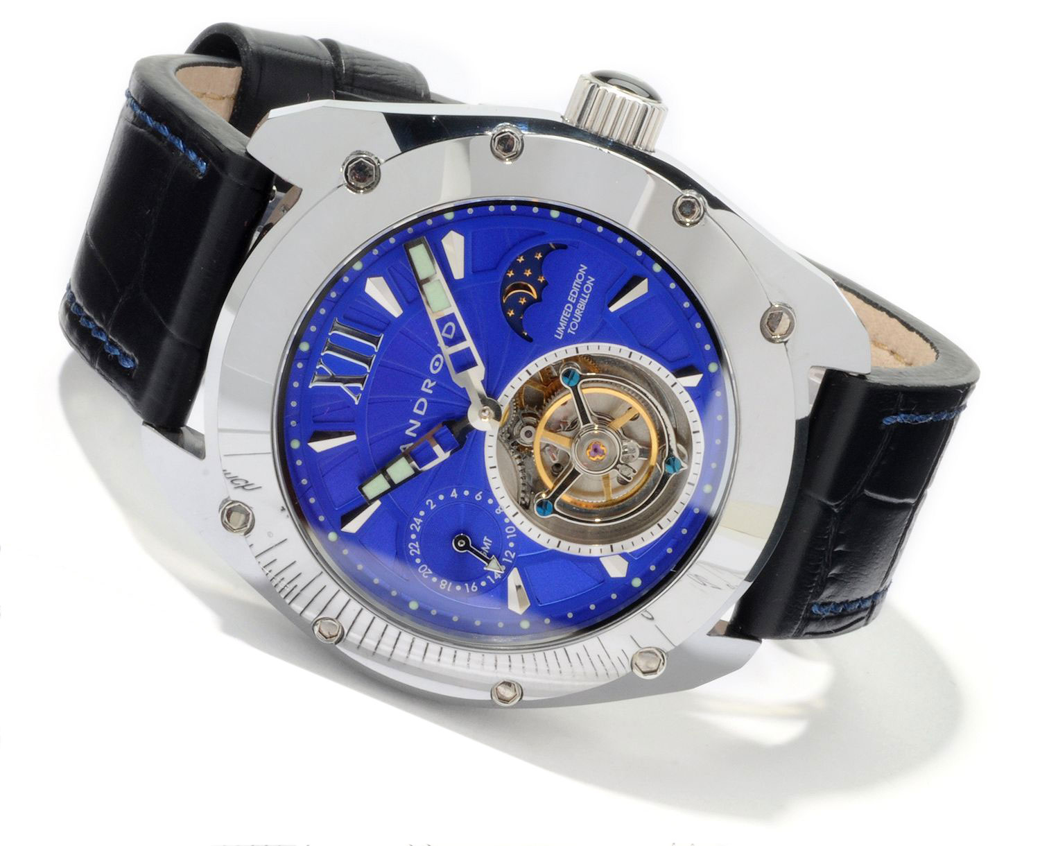 Limited Edition Android Virtuoso Tungsten Tourbillon Watch