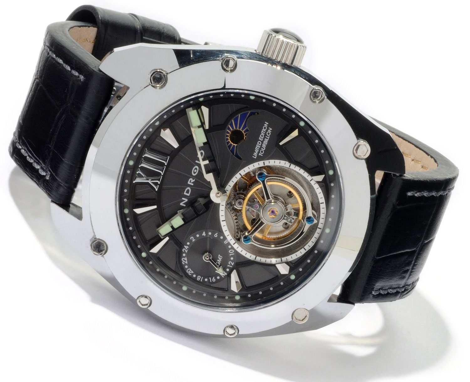 Limited edition android virtuoso tungsten tourbillon watch extravaganzi for Android watches