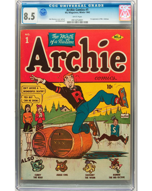 Archie Comics #1 Book Sets New World Record
