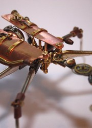 Arthrobots – Steampunk Insects Sculptures By Tom Hardwidge