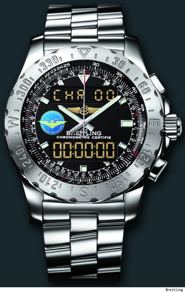 Limited Edition Breitling Airwolf Watch For Naval Aviation