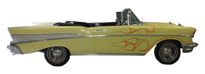 Bruce Springsteen's 1957 Chevrolet Bel Air Convertible