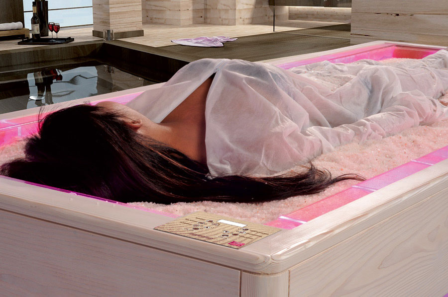 Crystals - Salt Bed by Iso Benessere