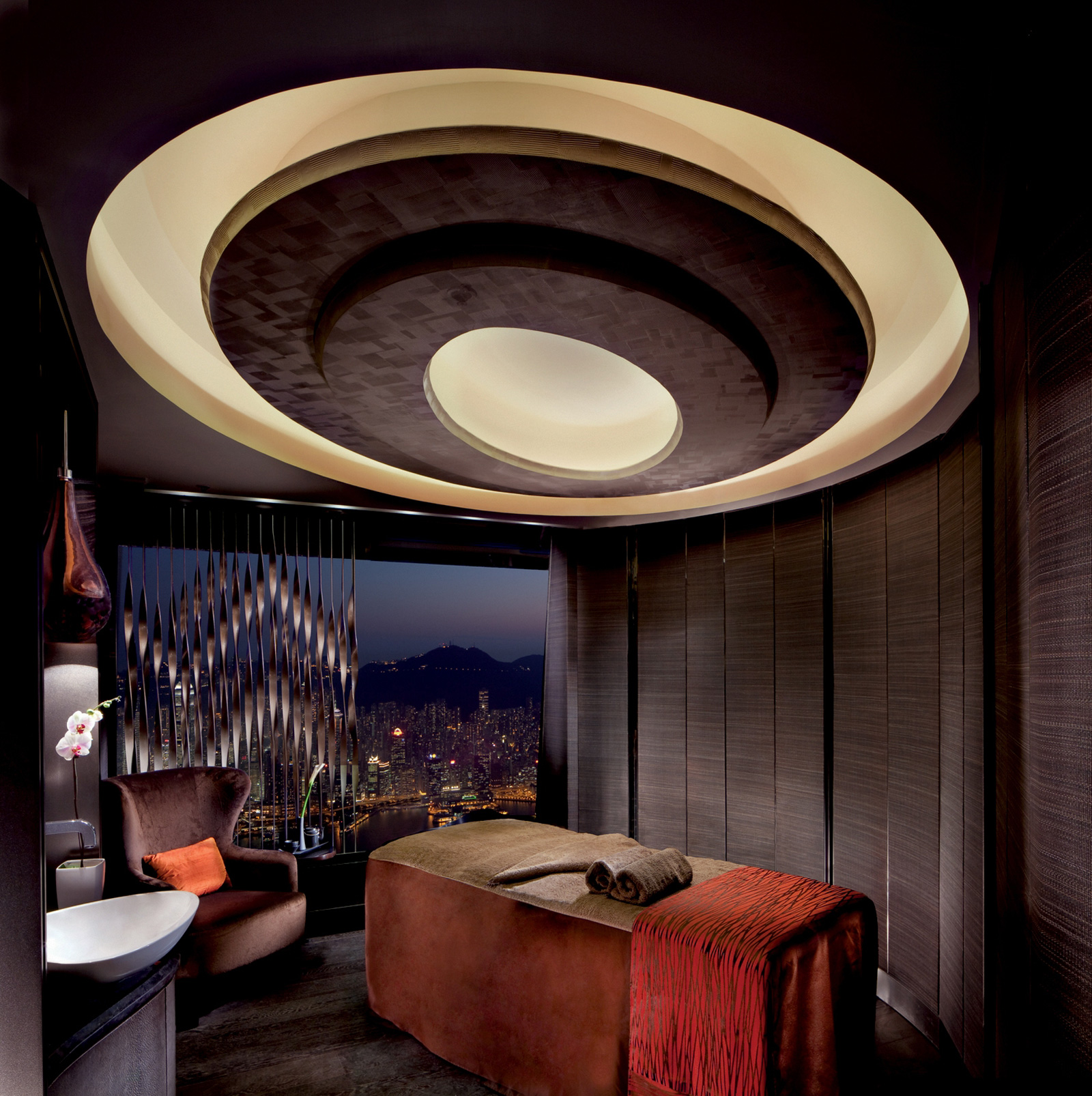 ESPA treatment room at The Ritz-Carlton, Hong Kong