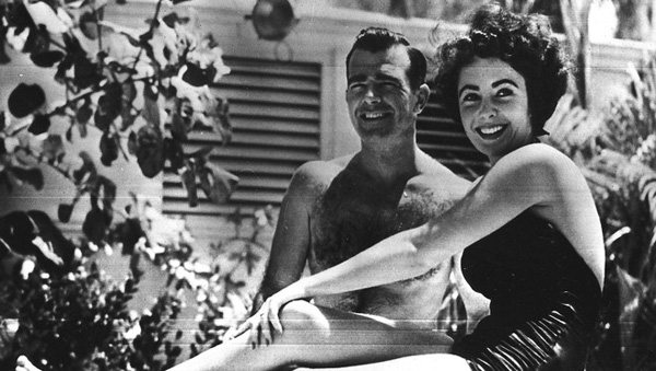 Elizabeth Taylor and William Pawley