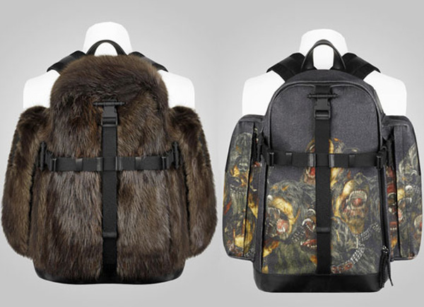 Givenchy-Fall-Winter-2011-Fur-&-Dog-Print-Backpacks-3