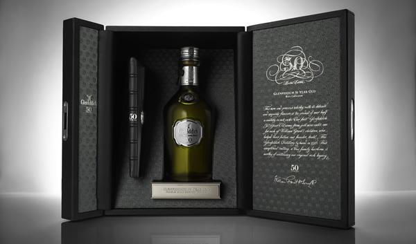 Current Glenfiddich 50yo Whisky
