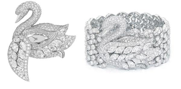 Graff's Diamond Swan Watch