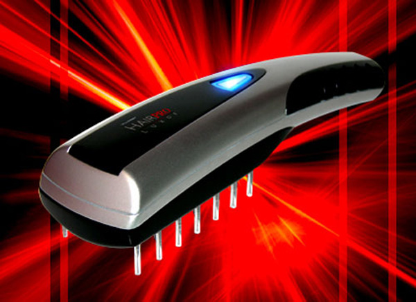 Most Expensive Hair Brush &#8211; The Viatek HairPro Luxor Laser Hair Brush
