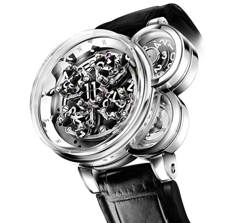 Harry Winston Presents Opus Eleven &#8211; Artistic Timepiece At Baselworld 2011