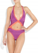 Do not Wear it in Water – Herve Leger's Swimsuit Collection