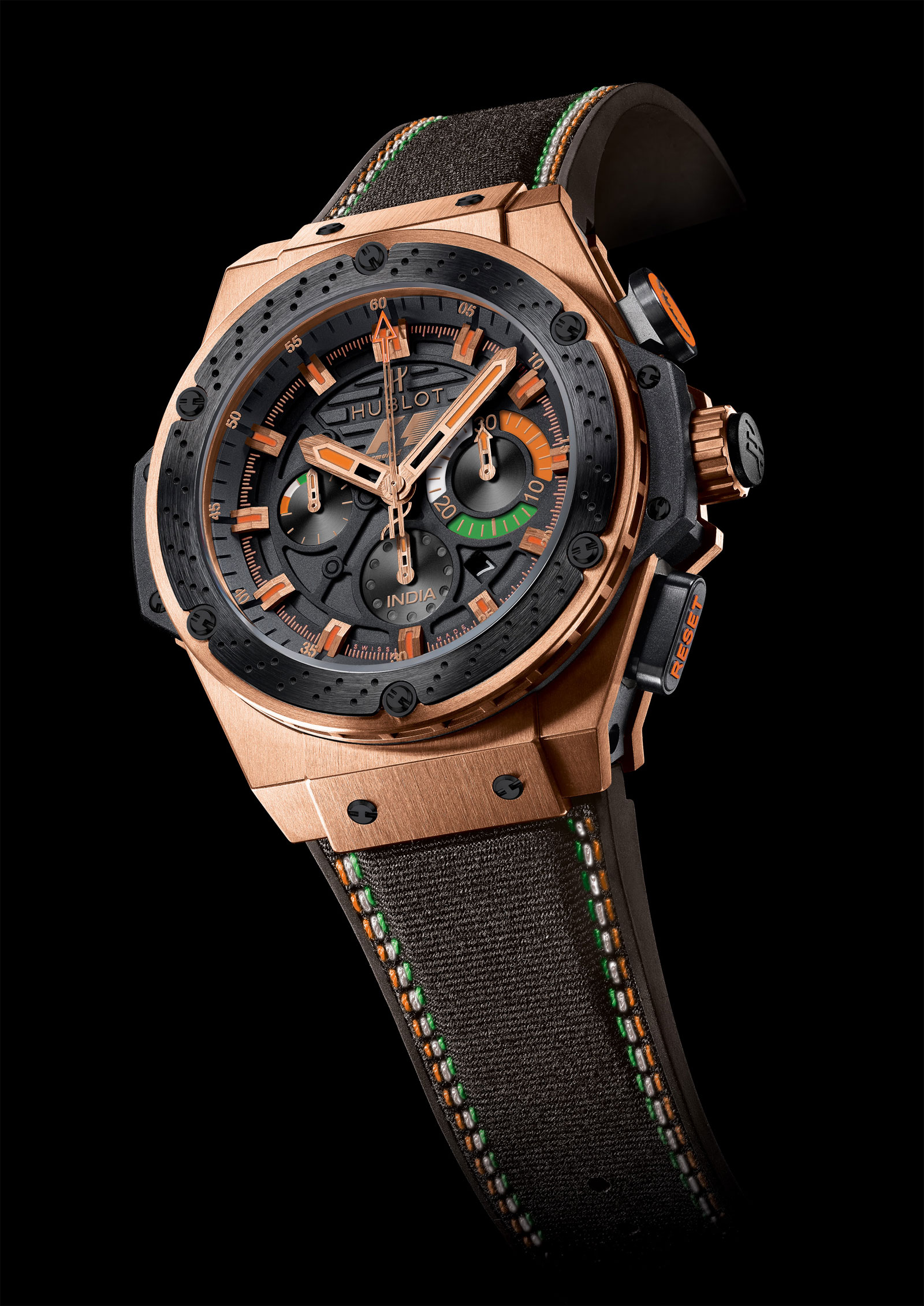 Limited Edition Hublot F1 King Power India Watch