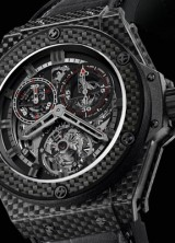 Hublot King Power Cathedral Realised in 100% Carbon Fibre – World First