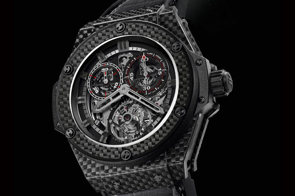 Hublot King Power Cathedral Realised in 100% Carbon Fibre &#8211; World First