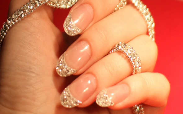 Iced Diamond Manicure Cherish...Me