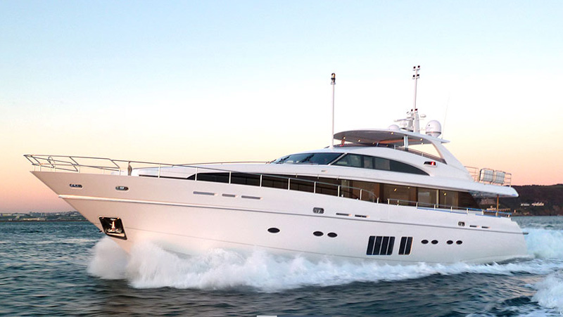 LVMH Launch $11 Million M Class Princess Luxury Yacht