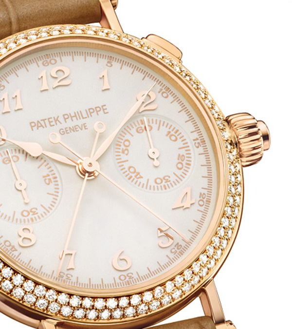 Ladies First Split Seconds Chronograph By Patek Philippe Is The World's Thinnest Split-Seconds Column-Wheel Watch
