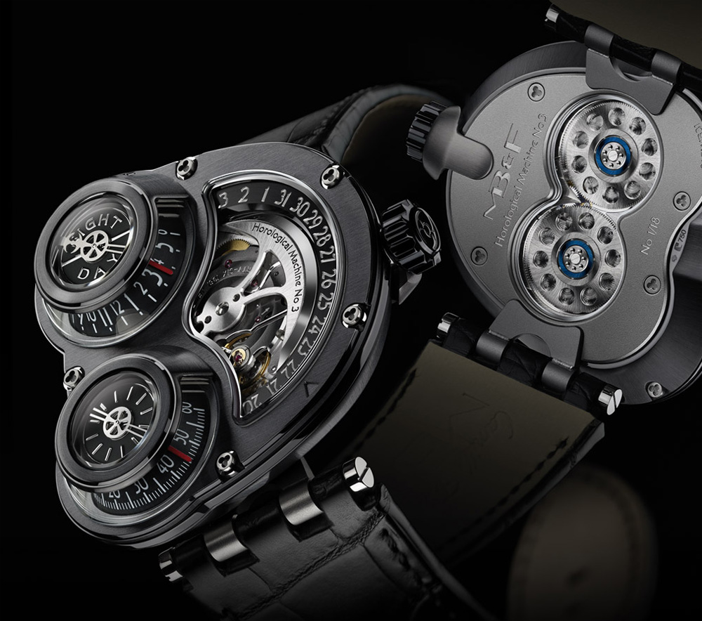 Limited Edition MB&F HM3 ReBel Watch