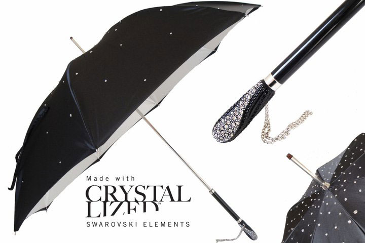 Limited Edition Pasotti Umbrellas with Swarovski Crystals