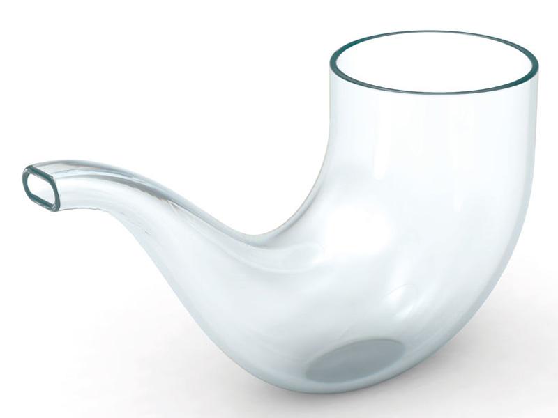 Limited Edition Sebastian Bergne's Pipe Glass