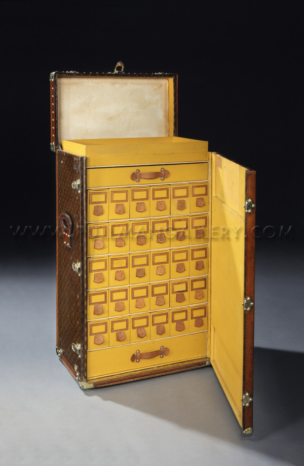 Louis Vuitton Shoe Trunk From 1920s Sold For $68,500